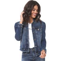 a47f123fd Dafiti. Jaqueta Jeans Colcci Estonada Azul