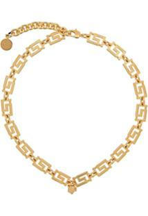 Versace Greco Motif Necklace - Dourado