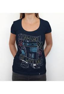 May R2D2 - Camiseta Clássica Feminina