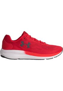 Tênis Masculino Under Armour Charged Pursuit 2 Vermelho - 39