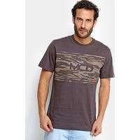 Camiseta Mcd Camouflage Masculina - Masculino 27b968172eb