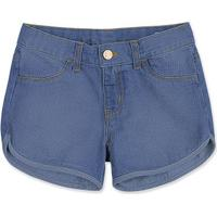 494582920 Hering. Shorts Jeans Infantil Menina Com Bordado ...
