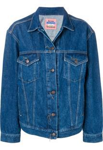 Acne Studios Jaqueta Jeans - Azul