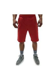 Bermuda Q Clothing Basic Line Vermelho