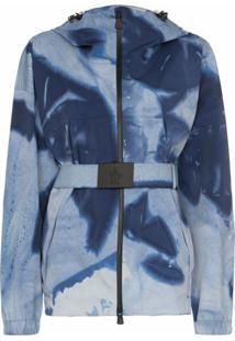 Moncler Jaqueta Giusalet Tie-Dye - Azul