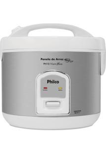 Panela De Arroz Philco Ph10 Com Visor Glass Branca 127V