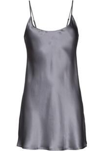 La Perla Camisola De Seda - Cinza