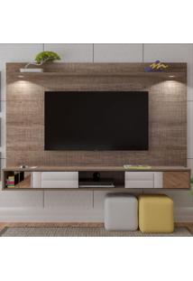 Painel Para Tv Até 60 Polegadas Platinum 2 Portas Canela - Artely