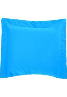 Porta Travesseiro 150 Fios Bell Turquesa Vilela Enxovais 1 Peça