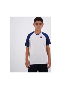 Camisa Cruzeiro Fortune Infantil Branca