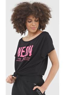 Camiseta My Favorite Thing(S) Neon Preta