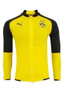Jaqueta Borussia Dortmund 17/18 Puma - Masculina - Amarelo/Preto