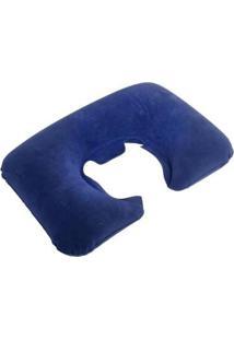 Travesseiro De Pescoço Nautika Inflável Em Pvc - Unissex