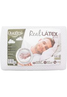 Travesseiro Duoflex Real Látex Branco