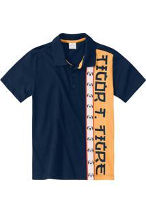 Camisa Tigor T. Tigre Azul - 66577I Azul