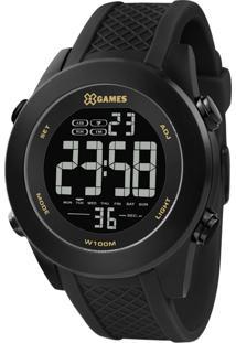 Relógio Pulso X Games Unissex - Quartz Digital - Xmnpd001-Pxpx Preto