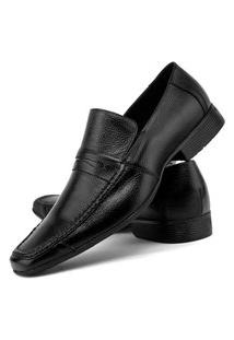 Sapato Social Masculino Mr Shoes Em Couro 1402 - Preto