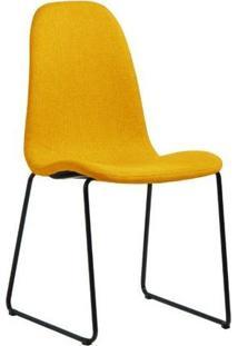 Cadeira De Jantar Chantilly Amarela - Vitrine Do Mundo