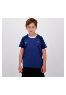 Camisa Cruzeiro Climber Infantil Azul