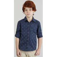 fb0dfa011a384 Camisa Infantil Estampada