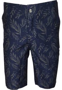 Bermuda Sport Brazil Vancouver Estampado Jeans - Kanui