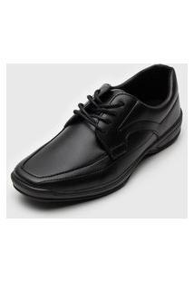 Sapato Ollie Confort Preto