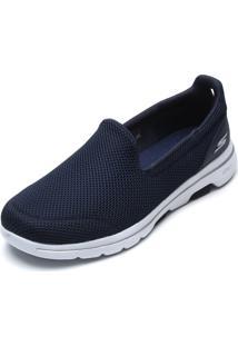 Slipper Skechers Go Walk 5 Azul-Marinho - Kanui