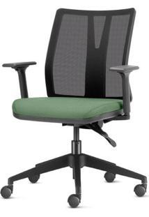 Cadeira Addit Assento Crepe Verde Menta Com Base Piramidal Em Nylon - 54117 Sun House