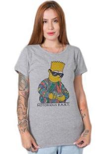 Camiseta Stoned Notorious Bart Feminina - Feminino