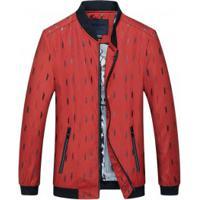 Jaqueta Vermelha Ziper masculina   Shoes4you 7c9d10ac64