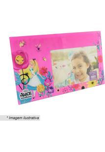 Porta Retrato Alice® - Pink & Amarelo - 23,5X20Cm