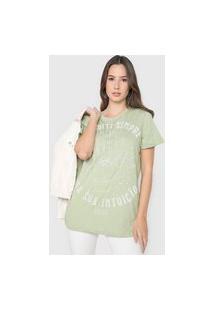 Camiseta Colcci Intuição Verde