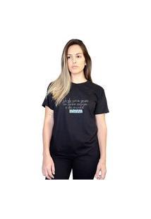 Camiseta Feminina Minha Beleza Preta