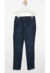 Calça Jeans Infantil Express Skinny Duda Feminina - Feminino