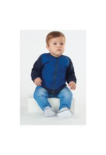 Jaqueta Up Baby Infantil Azul