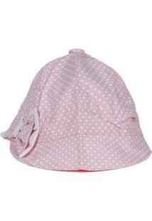 Chapéu Infantil Para Bebê Menina - Rosa