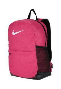 87dfb1511 Mochila Nike Brasilia - 20 Litros - Rosa Escuro