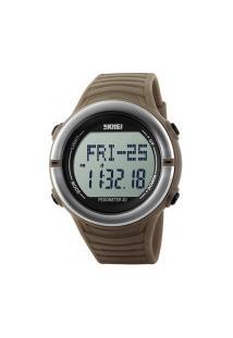Relógio Digital Skmei -1111- Khaki