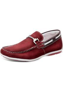 c9eb2ae975 Mocassim Para Meninos Marsala Vermelho infantil | Shoes4you