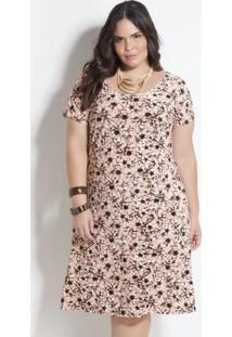 Vestido Plus Size Marguerite Floral