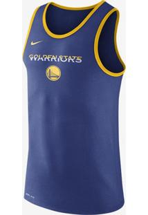 Regata Nike Golden State Warriors Dry Logo Masculina
