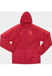 Jaqueta De Chuva Flamengo C  Capuz Adidas Masculina - Masculino 60bd364b8d0c5
