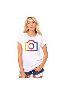 Camiseta Coolest Instagram Branco