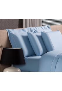 Fronha Blue Algodão Azul 50X150