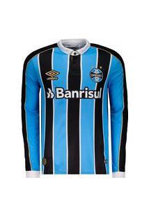Camisa Umbro Grêmio Oficial 1 2019 Masculina