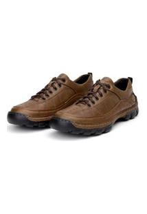 Sapato Em Couro Hayabusa California 40 Bege
