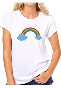 Camiseta Coolest Arco Íris Feminina - Feminino