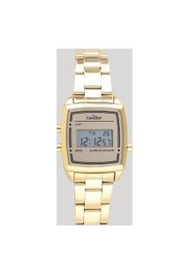 Relógio Digital Condor Feminino - Cojh512Ac4D Dourado