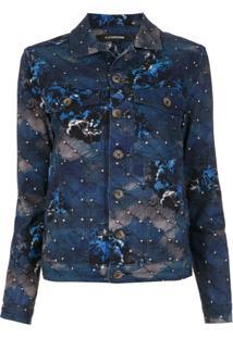 À La Garçonne Jaqueta Jeans 'Night' - Azul