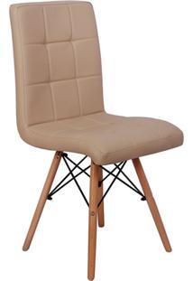 Cadeira Impã©Rio Brazil Eiffel - Bege/Incolor - Dafiti